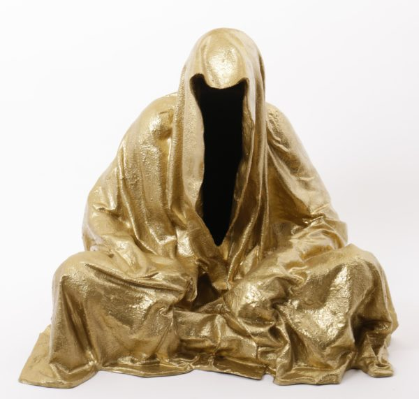 Manfred Kielnhofer – Guardian of Time, hockend
